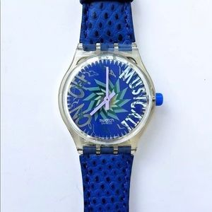1993 Vintage MusiCall Tone In Blue Swatch
